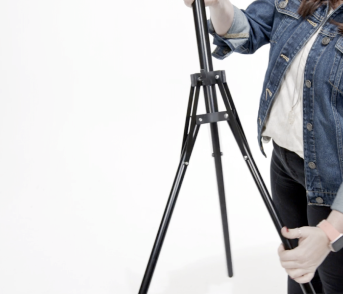 Set virtual film kit in front of you